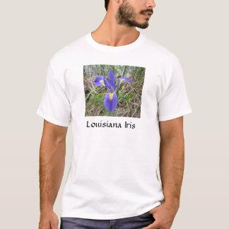 Big Blue Louisiana Iris T-Shirt