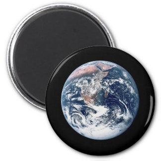Big Blue Marble 2 Inch Round Magnet