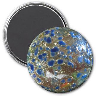 Big Blue Marble 3 Inch Round Magnet