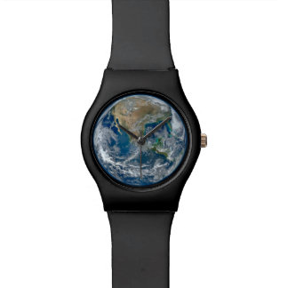 Big Blue Marble Planet Earth from Space Watch Watches