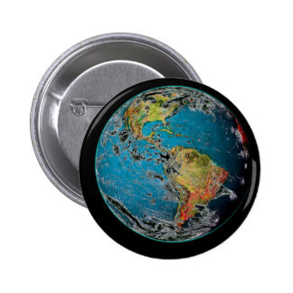 BIG BLUE MARBLE -- THE EARTH BUTTON