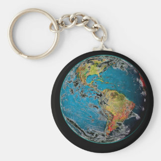 BIG BLUE MARBLE -- THE EARTH KEY CHAINS