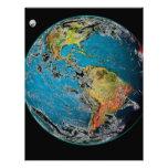 BIG BLUE MARBLE -- THE EARTH LETTERHEAD DESIGN