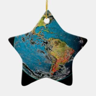 BIG BLUE MARBLE -- THE EARTH CHRISTMAS TREE ORNAMENTS