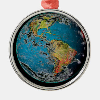 BIG BLUE MARBLE -- THE EARTH CHRISTMAS ORNAMENT