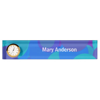 Big Blue Marbles Name Plate