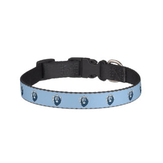Big Blue Monarchs Shield Pet Collar