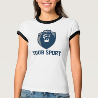 Big Blue Monarchs Shield T-Shirt