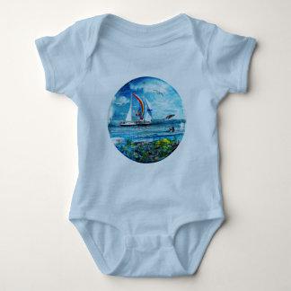 Big Blue Ocean Bubble Natures Playground Shirt