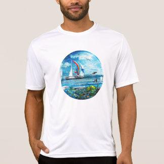 Big Blue Ocean Bubble Natures Playground Tee Shirt