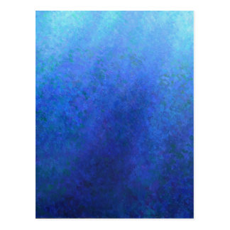 Big Blue Postcard