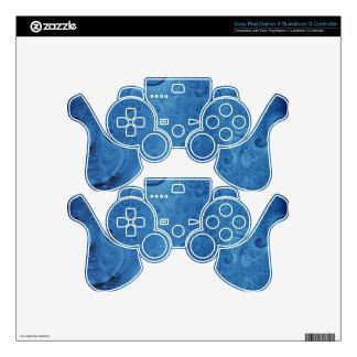 Big Blue PS3 Controller Decal