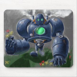 Big Blue Robo Mouse Pad