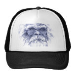 Big Blue Sasquatch Trucker Hat