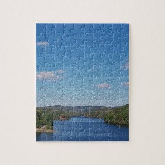 Big Blue Sky Jigsaw Puzzle