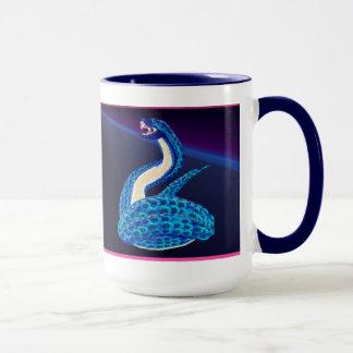 Big Blue Snake From Some Interesting Place Mug