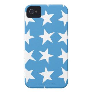 Big  Blue Stars Case-Mate ID™ iPhone 4 Cases
