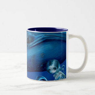 """""""Big Blue Whale"""" Mug"""