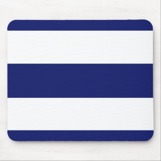 Big Bold Blue Stripe Mouse Pad