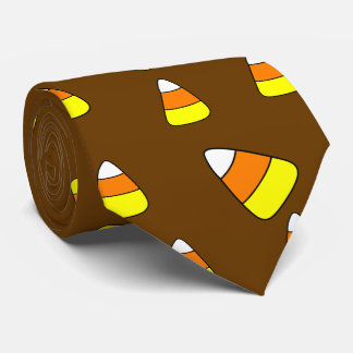 Big Bold Candy Corn Neck Tie