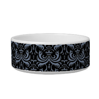 Big Bold Damask (Smokey Blue) Bowl