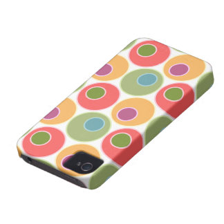 Big Bold Dots Modern iPhone 4 Case-Mate ID™