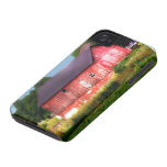 Big Bold Red Barn Case-Mate iPhone 4 Cases