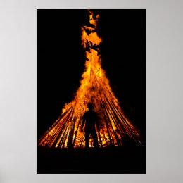 Big bonfire poster