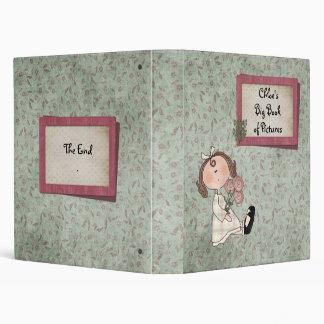 """""""Big Book of Pictures - Customizable"""" Vinyl Binder"""