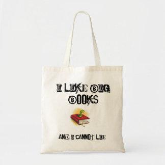 Big Books tote Budget Tote Bag