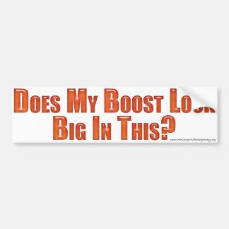 Big Boost Bumper Sticker