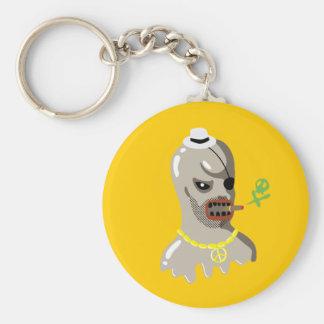 Big Boss Basic Round Button Keychain