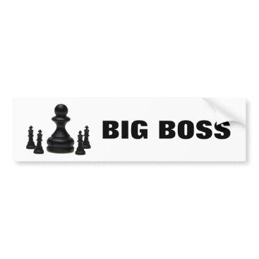 Professional Business Big Boss Bumper Sticker