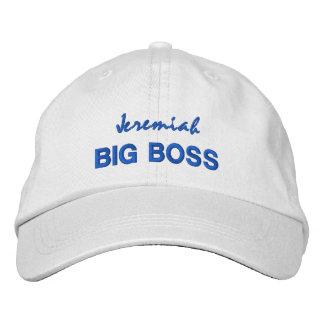 BIG BOSS Hat with Custom Name V06