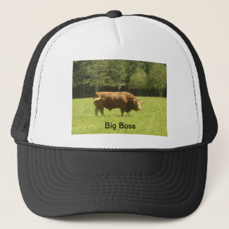 Big Boss - Limousin Bull Trucker Hat
