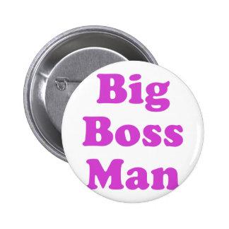 Big Boss Man Pinback Buttons