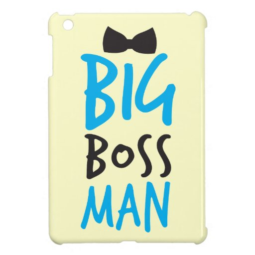 Big Boss man design NP Cover For The iPad Mini
