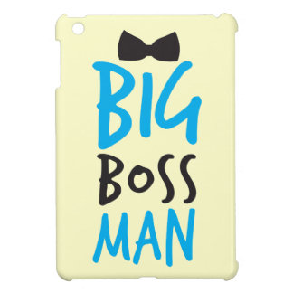 Big Boss man design NP iPad Mini Covers