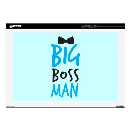 Big Boss man design NP Laptop Skin
