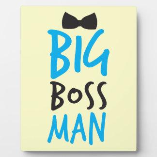 Big Boss man design NP Plaque