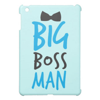 Big boss man nice Bossy design with a bow tie iPad Mini Cases