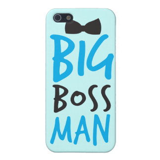 Big boss man nice Bossy design with a bow tie iPhone 5 Covers