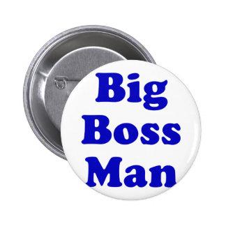 Big Boss Man Pinback Button