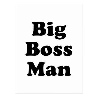 Big Boss Man Postcard