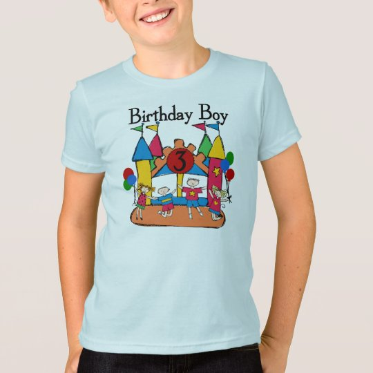 Big Bounce Boy 3rd Birthday T shirts and Gifts