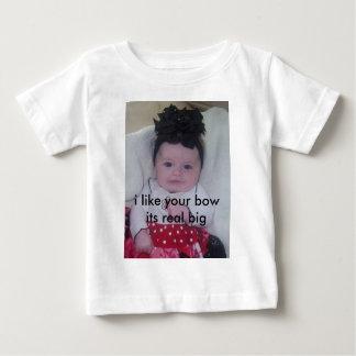 big bow baby baby T-Shirt