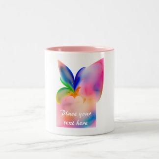 Big Bow Gift Box Two-Tone Coffee Mug