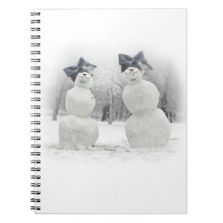 Big Bow Hat for Snowmen and the Holidays Journal