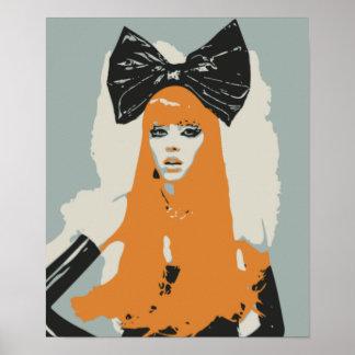 Big Bows, Big Hair, Big Fashion Poster