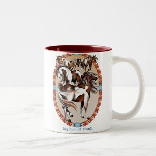 Big Box Of Paints Mug